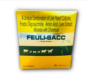 Live Yeast Cultures, Fructo Oligosaccharide, Amino Acid, Liver Extract, Mineral with Chromium