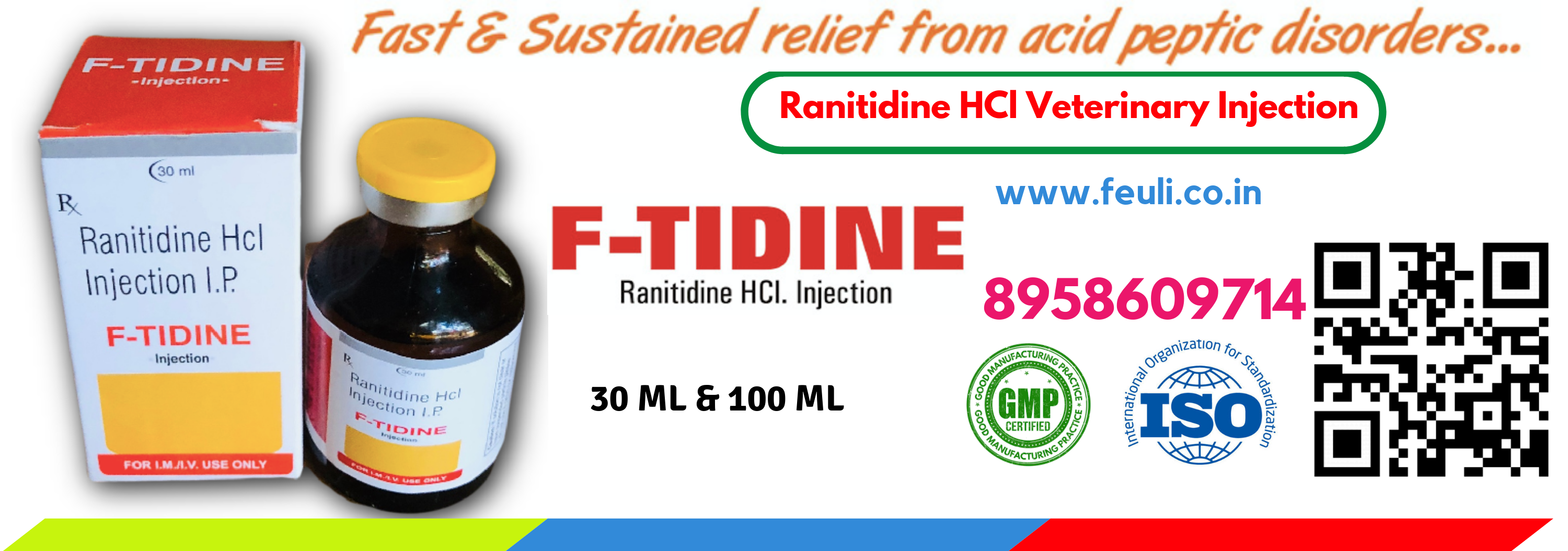 F-TIDINE Ranitidine Veterinary Injection